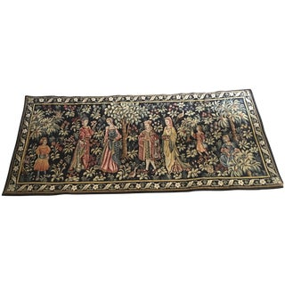 Vintage Point De Loiselles French Wall Tapestry