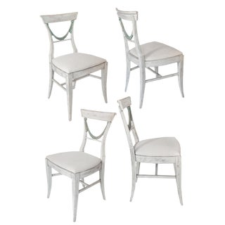 Set of Four Gustavian Style Chairs