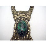 Image of Antique Brass Jerusalem Bottle Opener