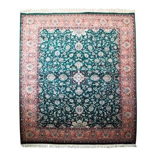 Persian Kashan Rug- 8′ × 10′