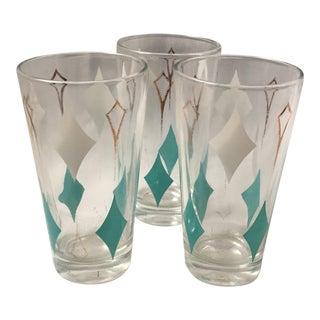 Mid-Century Modern Glasses - Set of 3