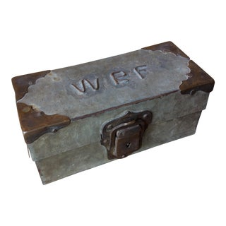 Antique Handmade Keepsake Box