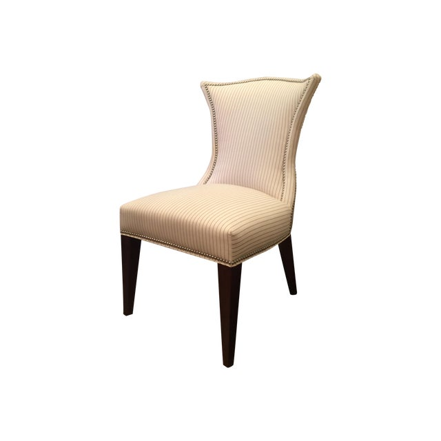 Lee Industries Cream Dining Chairs - Set of 8 - Image 1 of 6