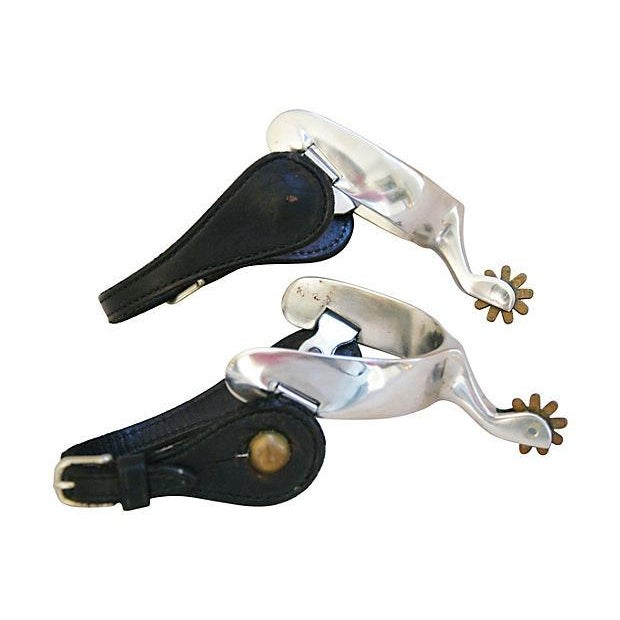 Image of Equestrian Riding Spurs & Accessories - Set of 4