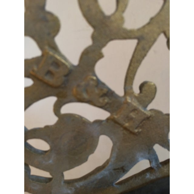 Bradley & Hubbard Brass Wall or Tabletop Mirror - Image 4 of 8