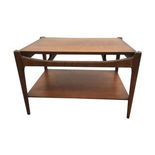 Mid Century Danish Modern Bassett Side Table