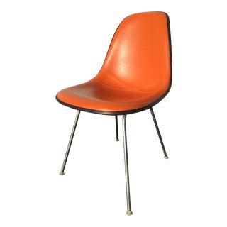 Eames for Herman Miller Orange Shell Chair