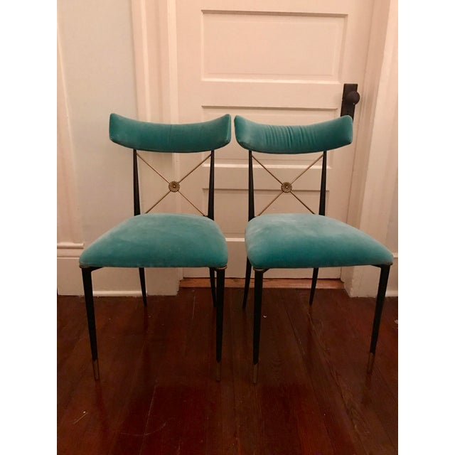 Jonathan Adler Rider Dining Chairs - A Pair - Image 2 of 7