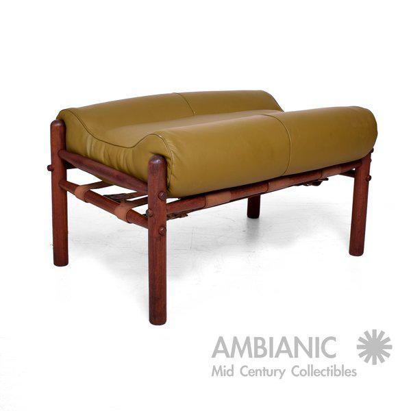"""Image of Arne Norrel """"KONTIKI"""" Pair of Safari Chairs"""