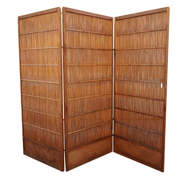 Japanese Room Divider Screen - Image 1 of 6