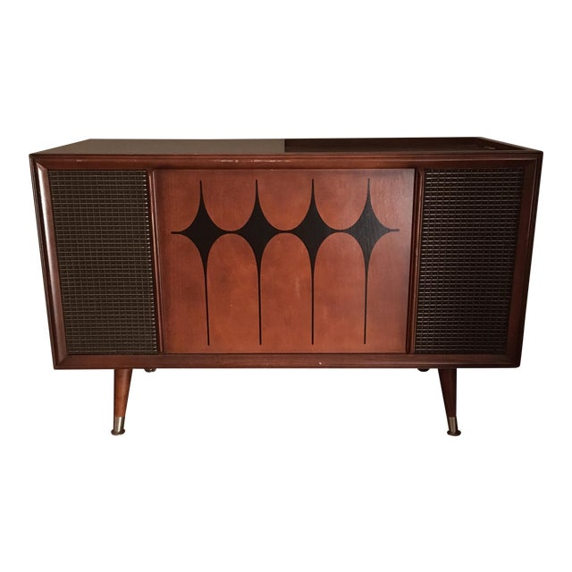 Image of Vintage RCA Record Player Console