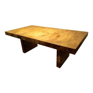 Reclaimed Brazilian Wood Dining Table