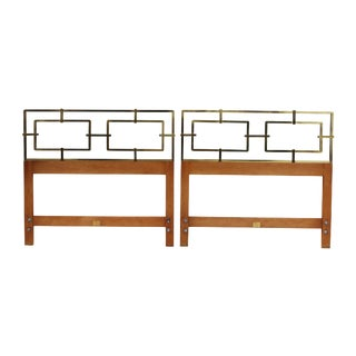 Kittinger Hollywood Regency Twin Headboards - A Pair