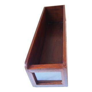 Teak Apothecary Drawer Box