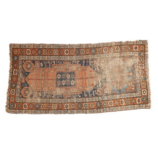 "Antique Kurdish Rug Runner - 2'8"" x 5'4"""