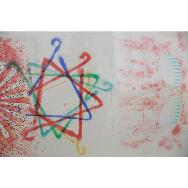 James Rosenquist, Number Wheel Dinner Triangle, 1978 - Image 5 of 6