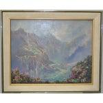 Image of Kauai Waimea Canyon Oil Painting by Ed Furuike