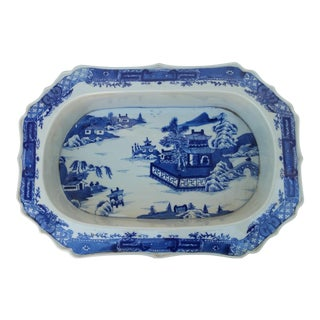 Chinese Filigree Porcelain Serving Platter
