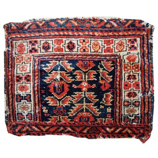1900s Hand Made Antique Persian Malayer Bag Face