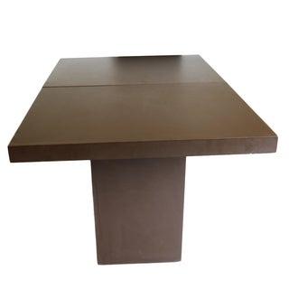 Mid-Century Dining Table Style of Milo Baughman