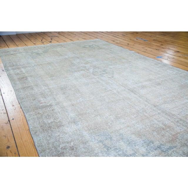 "Distressed Oushak Carpet - 6' X 9'7"" - Image 2 of 8"