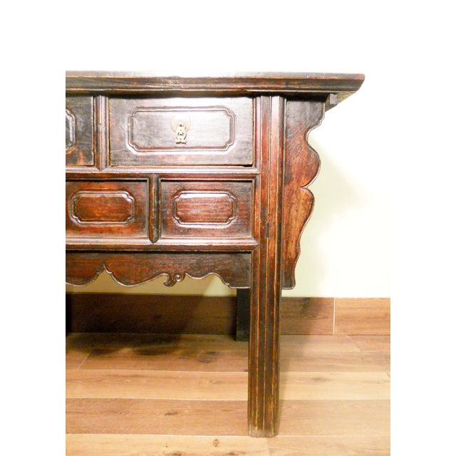19th-Century Chinese Ming Cabinet - Image 3 of 9