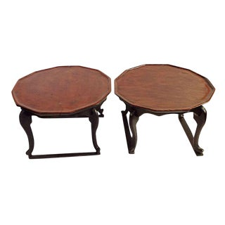 Antique Chinese Chow Tables - A Pair