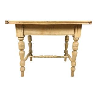 Antique English Pine Dough / Work Table