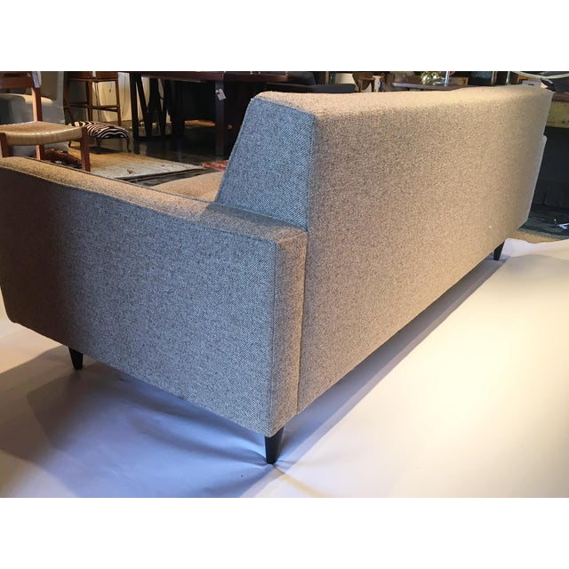 39 Reese 39 Gray Sofa Room Board Chairish