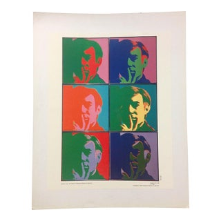 Andy Warhol Self-Portrait 1988 Art Image