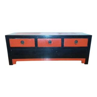 Vintage Chinese Low Sideboard