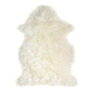 "Wren White Sheepskin Rug - 2'3"" x 4'1"""