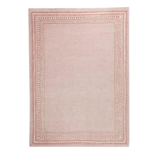 Serena and Lily Hand-Tufted Scribble Pink Rug - 8' x 10'
