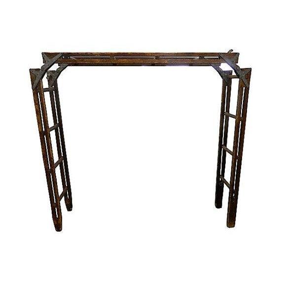Vintage Tri-Fold 15 Ft Ladder - Image 1 of 4