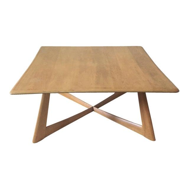 Heywood-Wakefield X Base Coffee Table