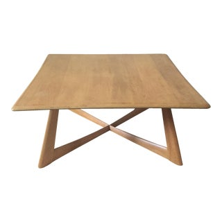 Heywood-Wakefield X Base Coffee Table