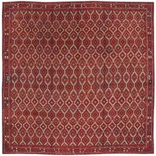 """Antique Agra Carpet - 15'8"""" x 15'8"""""""