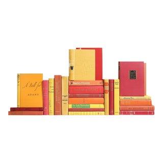 Mid-Century Sunset Classic Books - Set of 25