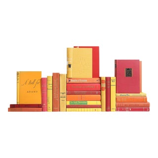 Mid-Century Sunset Classic Books - Set of 25