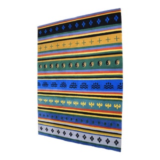 Tibetan Handwoven Traditional Rug - 4′5″ × 6′2″