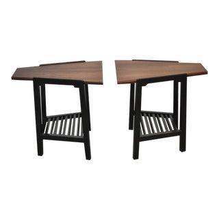 Dunbar Wedge Side Tables by Edward Wormley