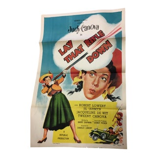 1955 Judy Canova Original Movie Poster