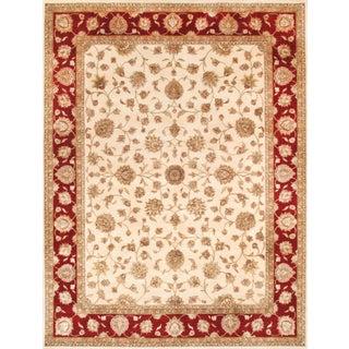 Pasargad Agra Silk & Wool Rug - 9' X 12'