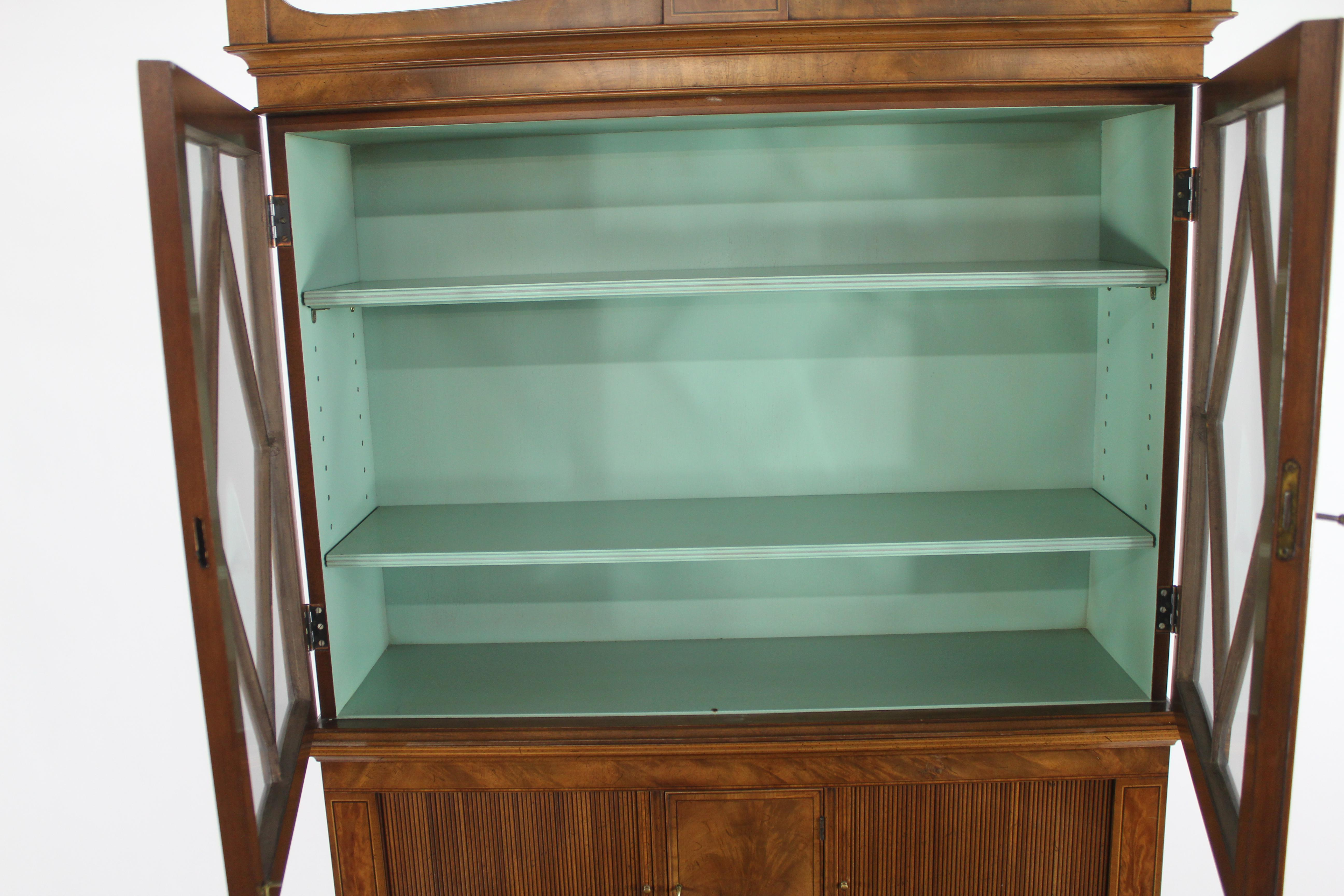 Marvelous Beacon Hill Furniture Sheridan Style Drop Front Desk   Image 7 Of 10