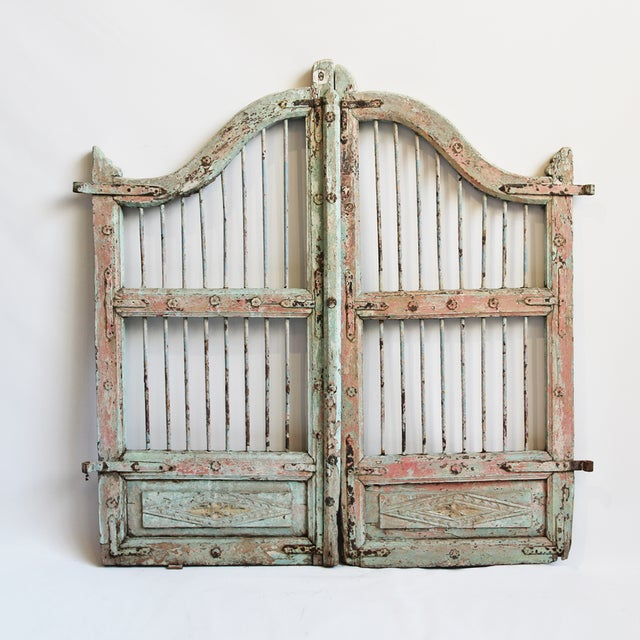 Los Angeles Ca Mid Century Modern Wood Garage Door Gate: Vintage Wood Garden Gate