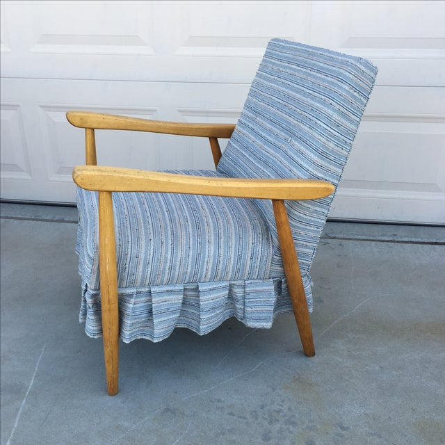 Image of Mid Century Modern Danish Style Lounge Chair
