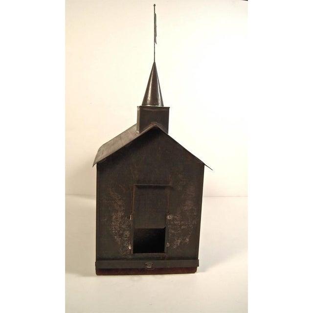 Rare 19th Century American Folk Art Architectural Squirrel Cage - Image 7 of 9