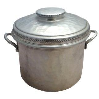 Mid-Century Aluminum Ice Bucket