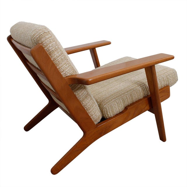 Hans Wegner For Getama Lounge Chair & Ottoman - Image 2 of 9