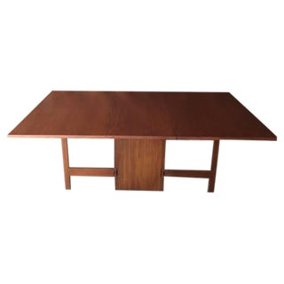 George Nelson for Herman Miller 1950s Drop Leaf Dining Table